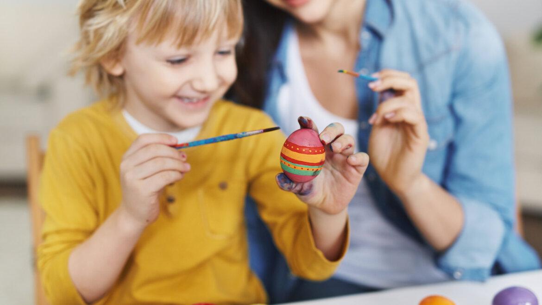 Manualidades de Pascua para niños y niñas