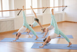 Cómo practicar yoga con niños