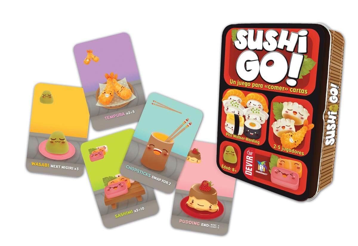 Juego de cartas Sushi Go!