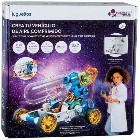 Scientific Tools - Crea tu vehículo de aire comprimido