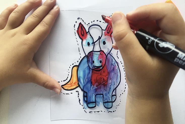Actividades pintura para niños