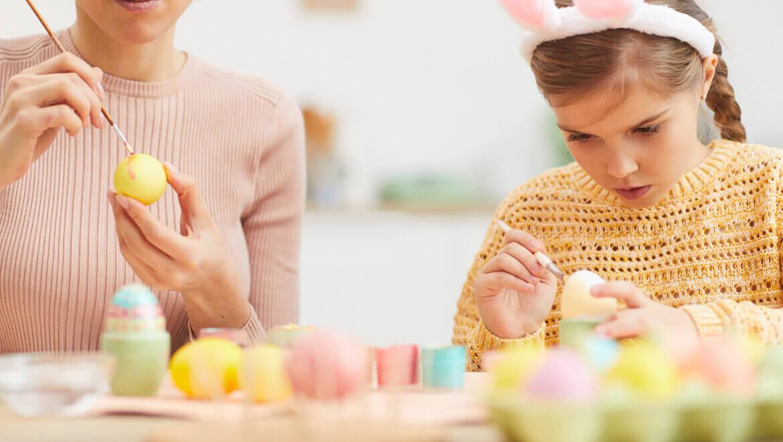Huevos de Pascua manualidades. Ideas que a los niños y las niñas les encantarán