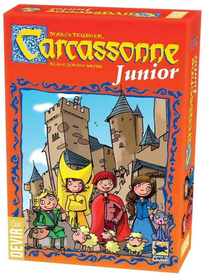 Juego de mesa Carcassonne junior